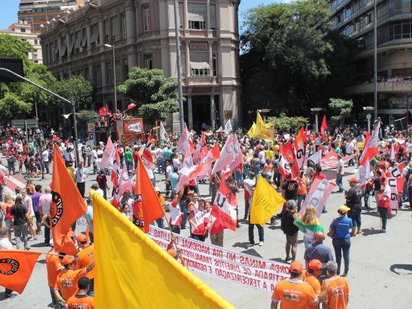 Dia Nacional de Mobilização contra a Reforma da Previdência
