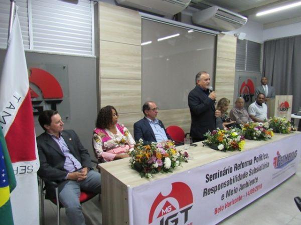 Inauguração da sede própria da UGT-MG