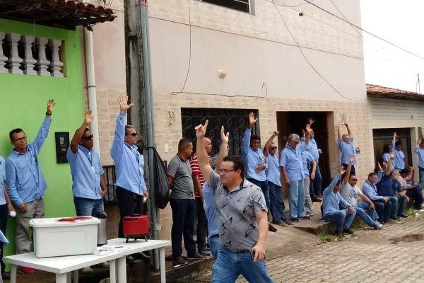 PROTESTO CONTRA AS DEMISSÕES NA ELETRONORTE