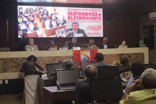 Assembleia Pública ELETROBRAS- Impactos da Privatização na economia do Maranhão
