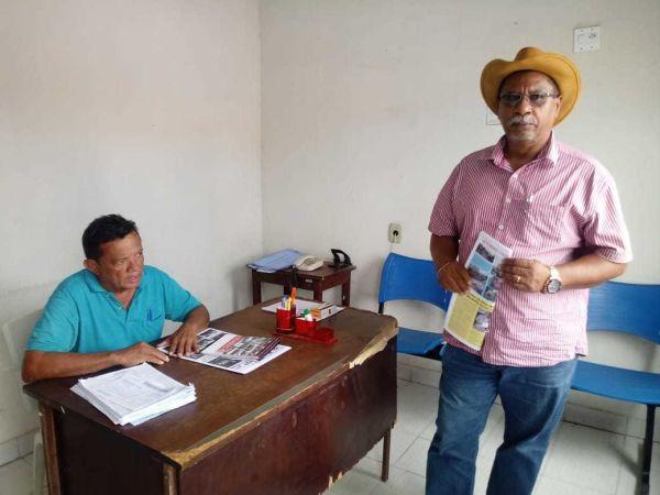 Entrega do Jornal Pinga Fogo - REGIONAL DE PINHEIRO