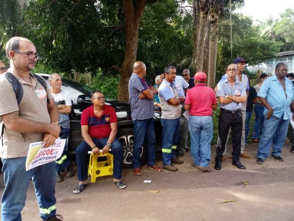 CAMPANHA SALARIAL CAEMA: ASSEMBLEIA NA UNIDADE DE NEGÓCIOS DO SACAVÉM