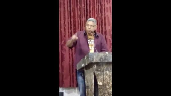 Fala De Vâner Almeida na Audiência pública na Câmara de Vereadores
