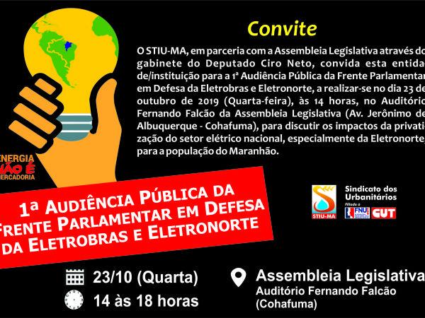 1 Audiência Publica em Defesa da Frente Parlamentar da Eletrobras e Eletronorte