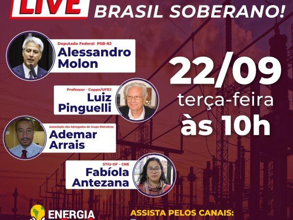 LIVE: ELETROBRAS PÚBLICA, BRASIL SOBERANO