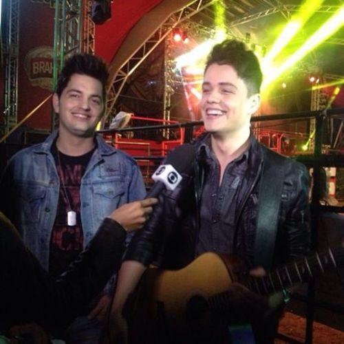 Vitor e Guilherme entrevista para MGTV - Globo