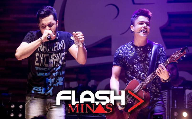 Dia 14, sábado, tem Flash Minas com Vitor e Guilherme