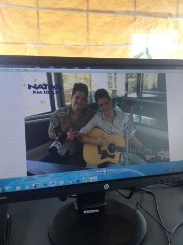 Vitor e Guilherme na Nativa FM