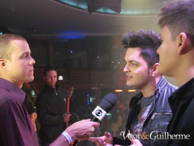Vitor e Guilherme é destaque na TV Globo Minas