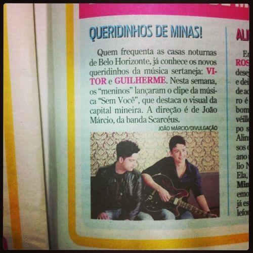 """Clipe de """" Sem Você"""" em destaque no Jornal Super"""