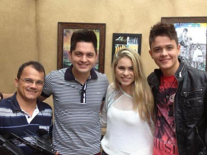 Vitor e Guilherme na Rede TV