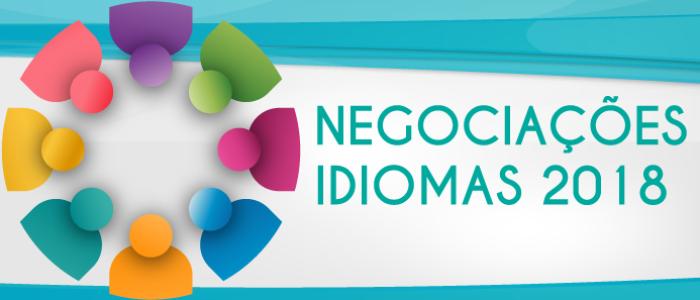 Negociações Coletivas 2018 Idiomas