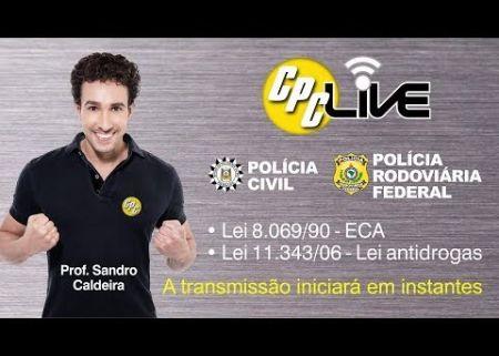 Live Carreiras Policiais - Prof. Sandro Caldeira