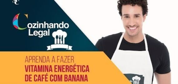 Vitamina Energética de Café com Banana