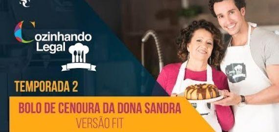 Bolo de Cenoura da Dona Sandra - o melhor do mundo