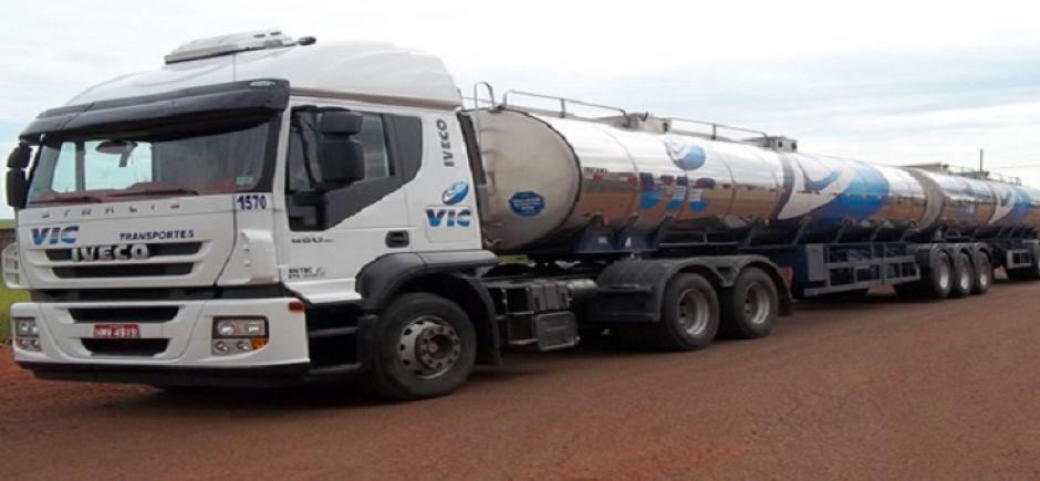 Transporte de leite