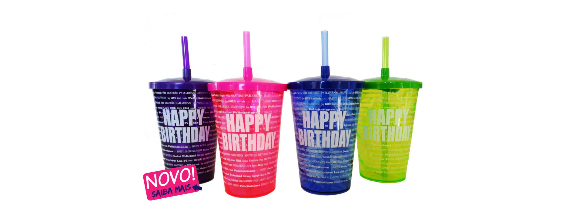 Walking Cup Happy Birthday 700ml