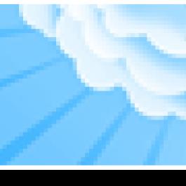 Modelo Nuvens em Céu Azul Claro