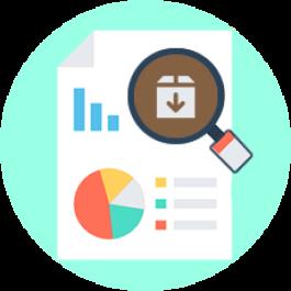 Relatórios para coleta de dados - estoque