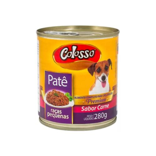 Patê Colosso Lata para Cães de Raças Pequenas - 280 grs