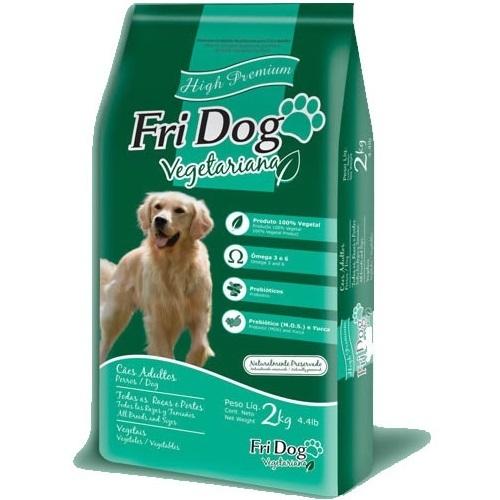 FriDog Ração Vegetariana para Cães Adultos - 15 KG