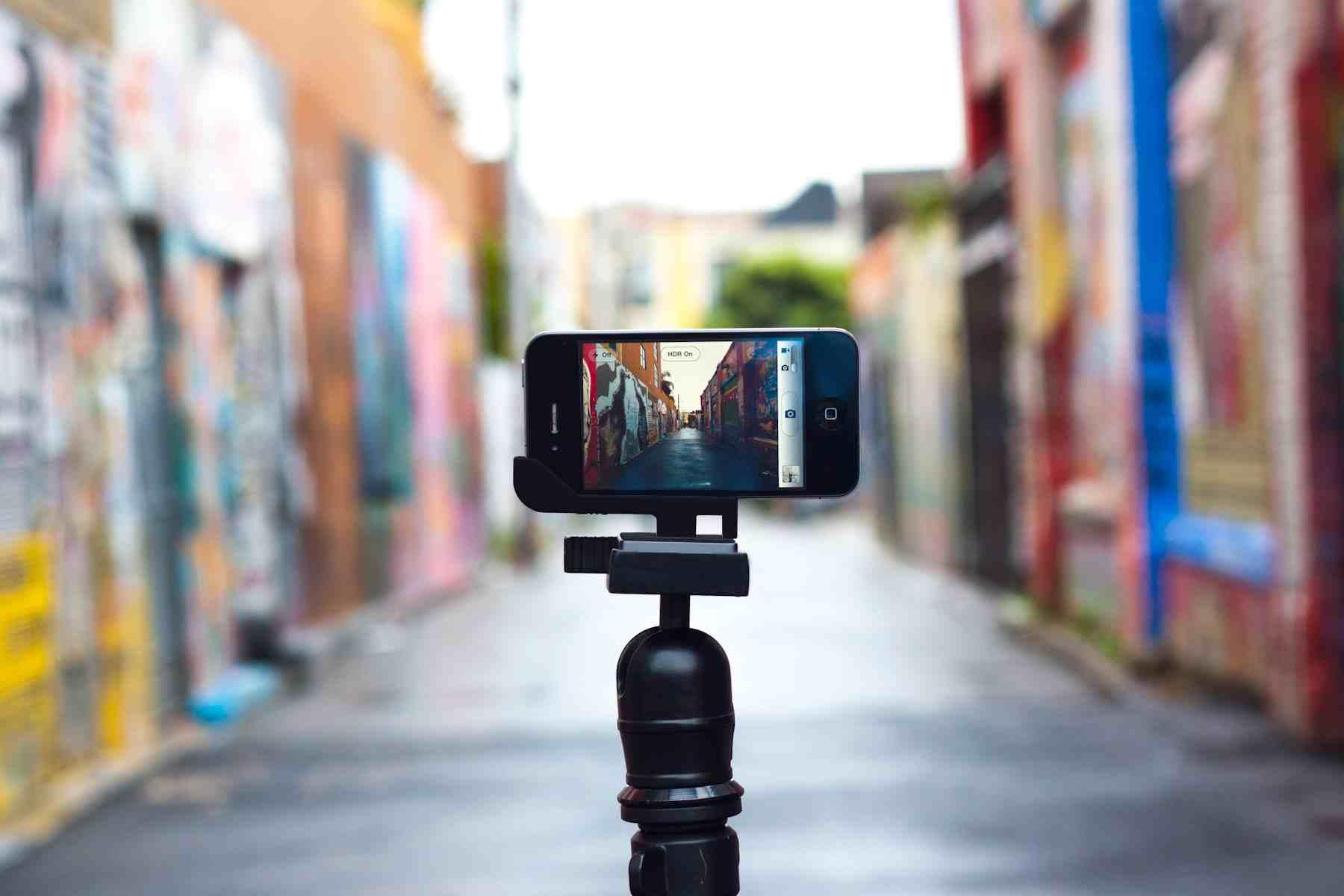 video mkt com celular