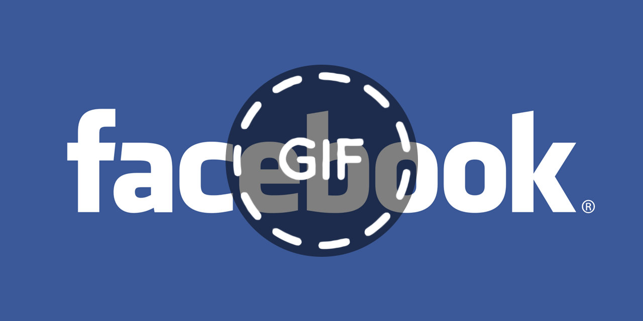 GIF do facebook