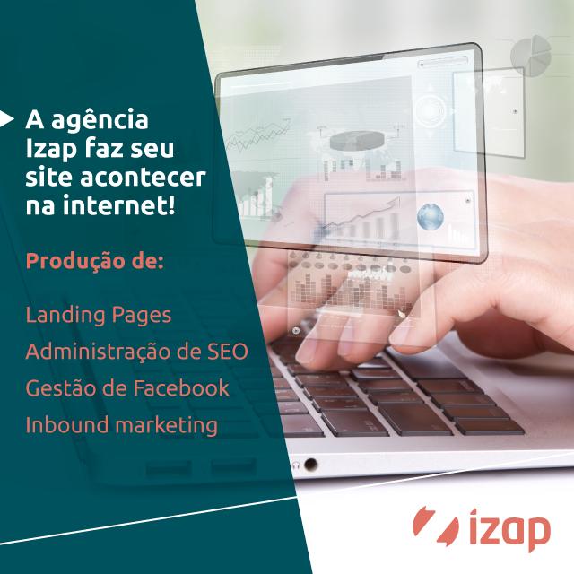 divulgue seu site na iZap!
