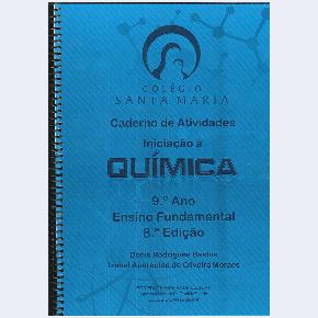 Caderno de Atividades - Química - 9º ano