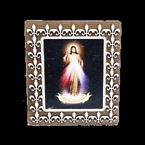 Quadro de mesa MDF - Jesus Misericordioso