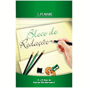 CSM - Bloco de redação 4º e 5° anos do Ensino Fundamental Modelo Colégio Santa Maria Minas