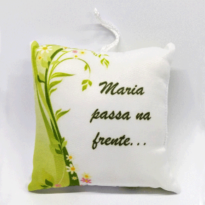 Sachê perfumado Maria Passa na frente