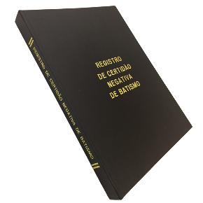 Registro Certidão Negativa de Batismo