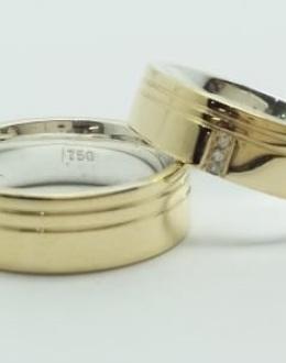 Alianças em Ouro e Prata (Ref: RU0010)