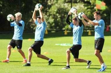 Uruguai está preparado para a estreia na Copa América (Foto: Alexandre Guzanshe/EM/D.A Press)