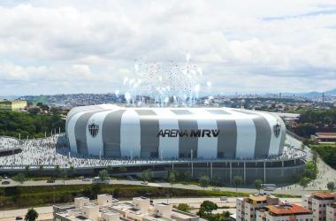 Estádio do Galo será construído no bairro Califórnia, em BH Foto: Farkasvolgyi Arquitetura / Atletico / Divulgacao