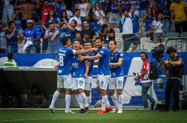 Comemoração do gol de Marquinhos Gabriel - Foto: Vinnicius Silva/Cruzeiro