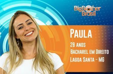Em entrevista, Paula disse que vai encarar tudo que tiver por vir Foto: Globo/divulgação