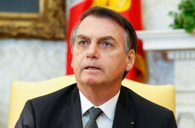 Bolsonaro negou que tenha havido distribuição de cargos em troca de votos no Congresso Nacional Foto: Arquivo/Alan Santos/PR