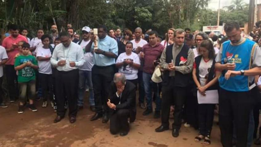Representante do Papa visita Brumadinho para rezar com atingidos por rompimento