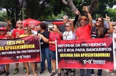 Centrais sindicais se unem em protesto contra a reforma da Previdência