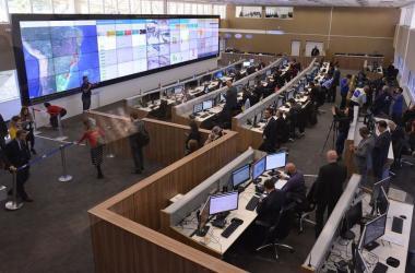 Centro Integrado de Comando e Controle Nacional, em Brasília Foto: Isaac Amorim/AGMJ
