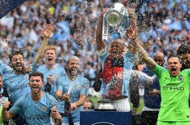 Manchester City alcançou 26 gols marcados em seis jogos disputados nesta edição da Copa (Foto: Daniel LEAL-OLIVAS / AFP)