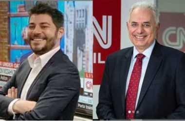 CNN Brasil anuncia contratação de Evaristo Costa e William Waack