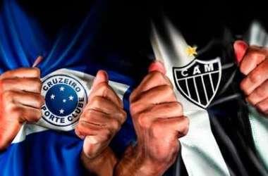 Disputa entre Cruzeiro e Atlético Foto: Ilustração Acir Galvão