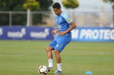 Pedro Rocha realizou primeiro treino com novos colegas na Toca (Foto: Alexandre Guzanshe/EM/D.A. Press)