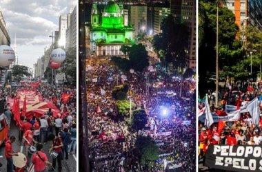 Greve Geral leva milhares de manifestantes às ruas em Minas Gerais contra a reforma da Previdência