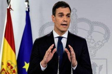 O chefe do governo espanhol Pedro Sánchez garantiu que haverá trabalho por uma Europa Social. Foto: Javier Soriano/AFP