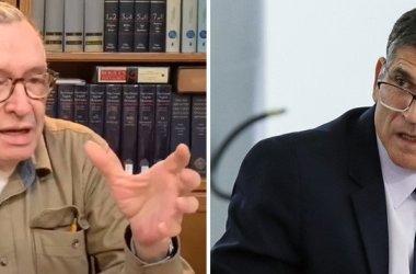 Guru de Bolsonaro, Olavo volta a atacar general Santos Cruz: seu merda