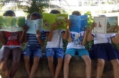 A leitura pode abrir diferentes portas e também despertar nos estudantes o desejo de serem autores/ Arquivo da escola